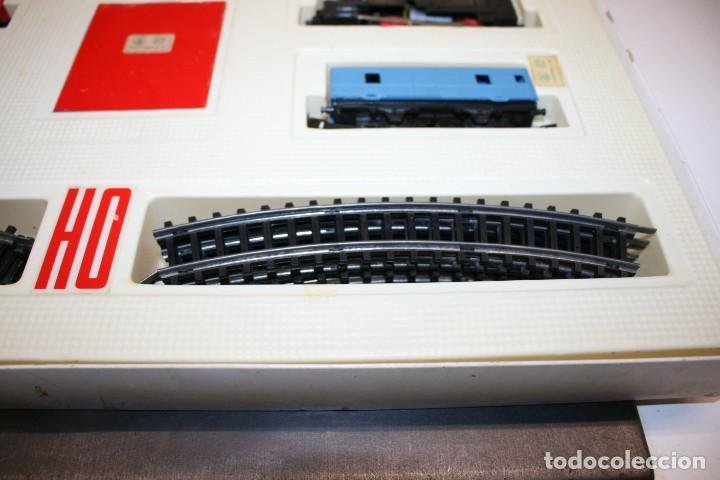 Juguetes antiguos Jyesa: Equipo Tren Completo JYESA escala HO - Foto 7 - 224345491