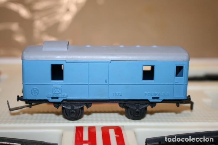 Juguetes antiguos Jyesa: Equipo Tren Completo JYESA escala HO - Foto 10 - 224345491