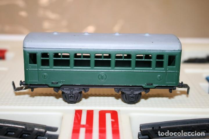 Juguetes antiguos Jyesa: Equipo Tren Completo JYESA escala HO - Foto 12 - 224345491