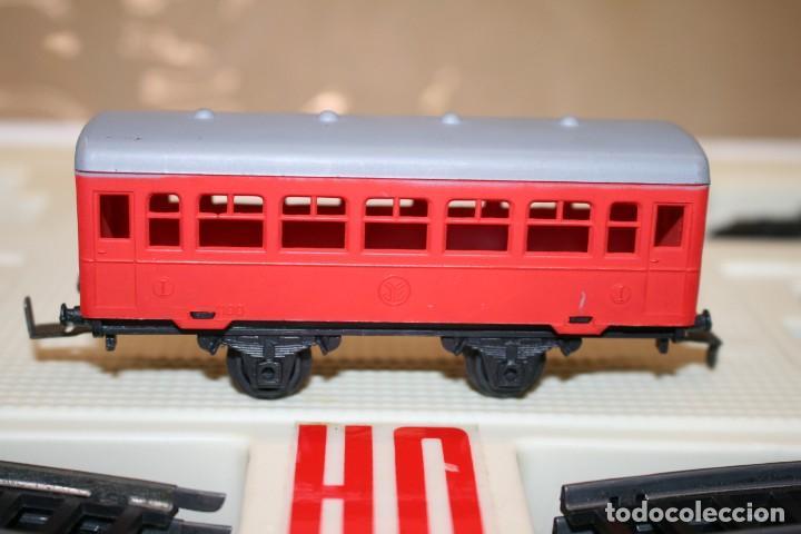 Juguetes antiguos Jyesa: Equipo Tren Completo JYESA escala HO - Foto 14 - 224345491