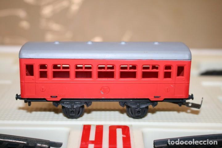 Juguetes antiguos Jyesa: Equipo Tren Completo JYESA escala HO - Foto 15 - 224345491