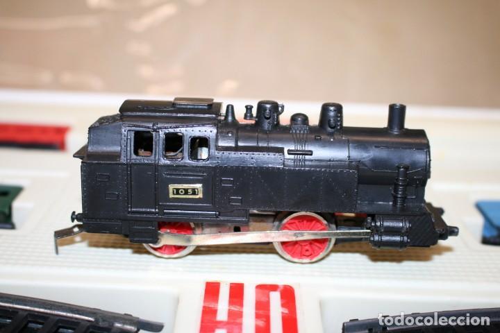 Juguetes antiguos Jyesa: Equipo Tren Completo JYESA escala HO - Foto 17 - 224345491