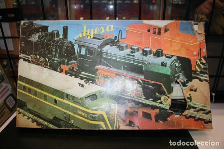 Juguetes antiguos Jyesa: Equipo Tren Completo JYESA escala HO - Foto 20 - 224345491