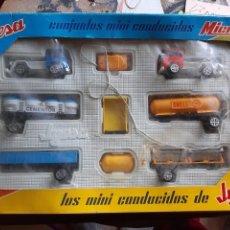 Jouets anciens Jyesa: LOS MINI-CONDUCIDOS DE JEYSA. Lote 227661285