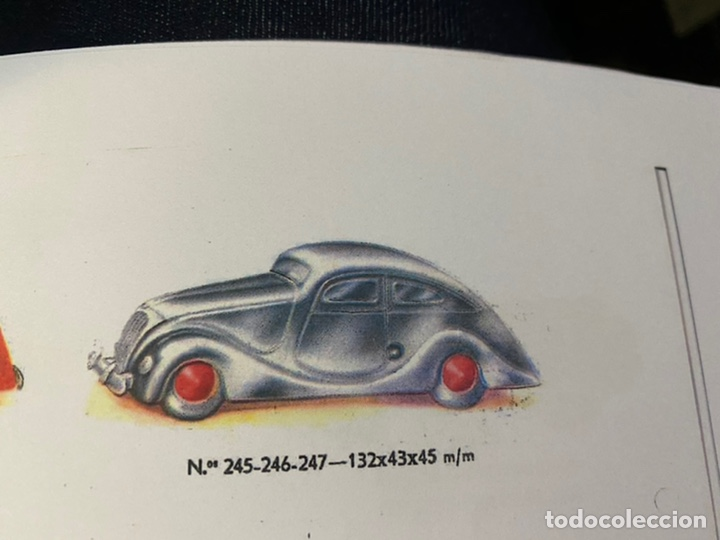 Juguetes antiguos Jyesa: Coche auto hojalata jyesa buen estado numero de referencia 245-246-247 - Foto 9 - 232553005