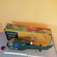 Giocattoli antichi Jyesa: HELICOPTERO ELÉCTRICO CON LUZ JYESA. Lote 236866105