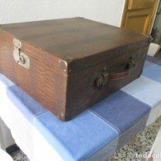 Juguetes antiguos Jyesa: GRAN ESTUCHE MALETIN DE JYESA PARA TREN ESCALA HO BUEN ESTADO. Lote 237543365