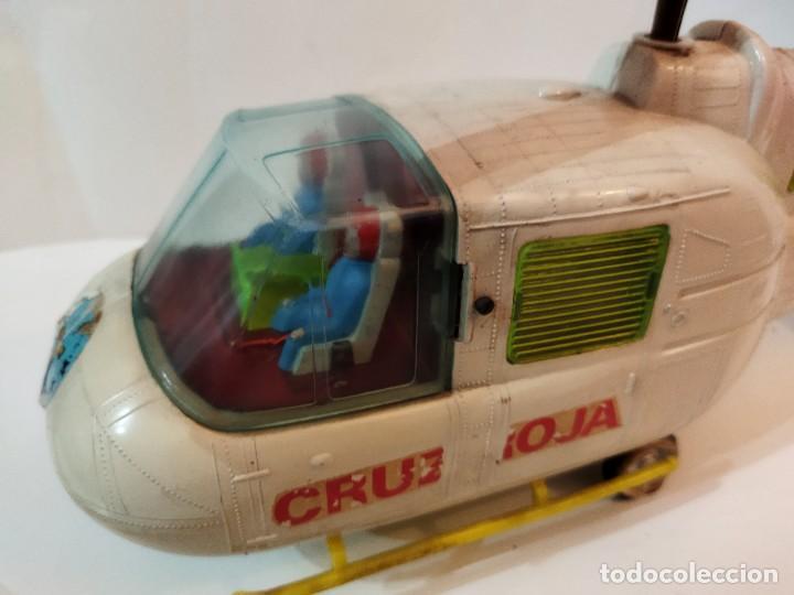 Juguetes antiguos Jyesa: Helicoptero Cruz Roja marca JYESA años 60 - Foto 2 - 245314930