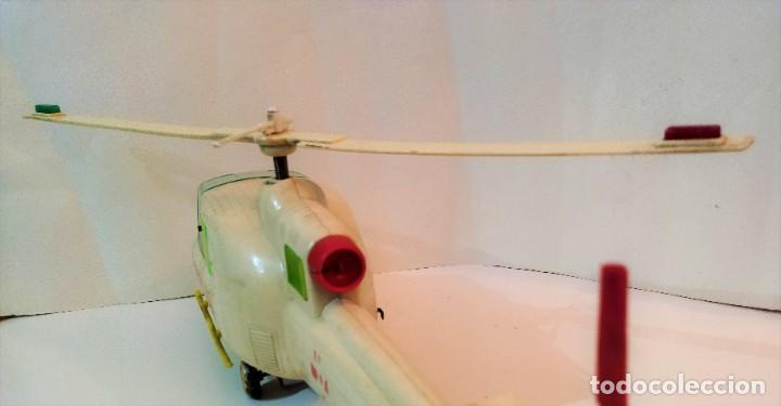 Juguetes antiguos Jyesa: Helicoptero Cruz Roja marca JYESA años 60 - Foto 3 - 245314930