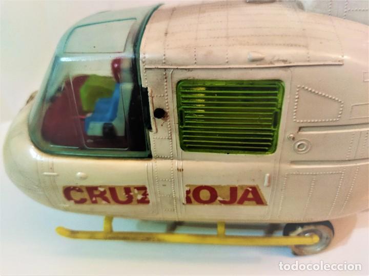 Juguetes antiguos Jyesa: Helicoptero Cruz Roja marca JYESA años 60 - Foto 4 - 245314930