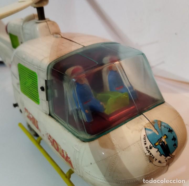 Juguetes antiguos Jyesa: Helicoptero Cruz Roja marca JYESA años 60 - Foto 6 - 245314930