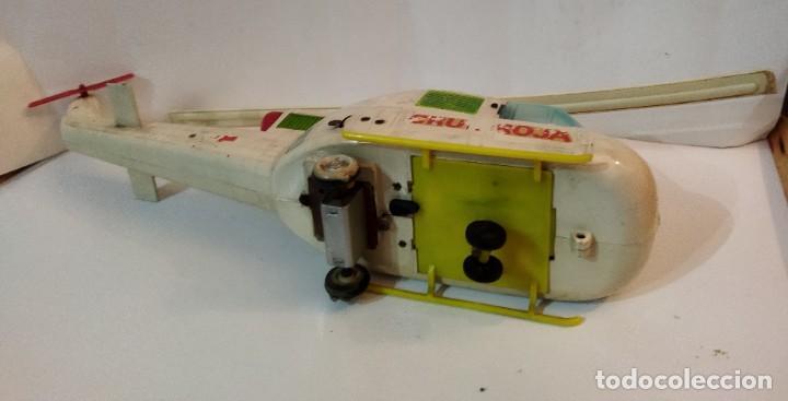 Juguetes antiguos Jyesa: Helicoptero Cruz Roja marca JYESA años 60 - Foto 7 - 245314930