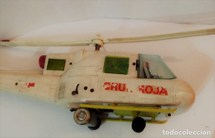 Juguetes antiguos Jyesa: Helicoptero Cruz Roja marca JYESA años 60 - Foto 8 - 245314930