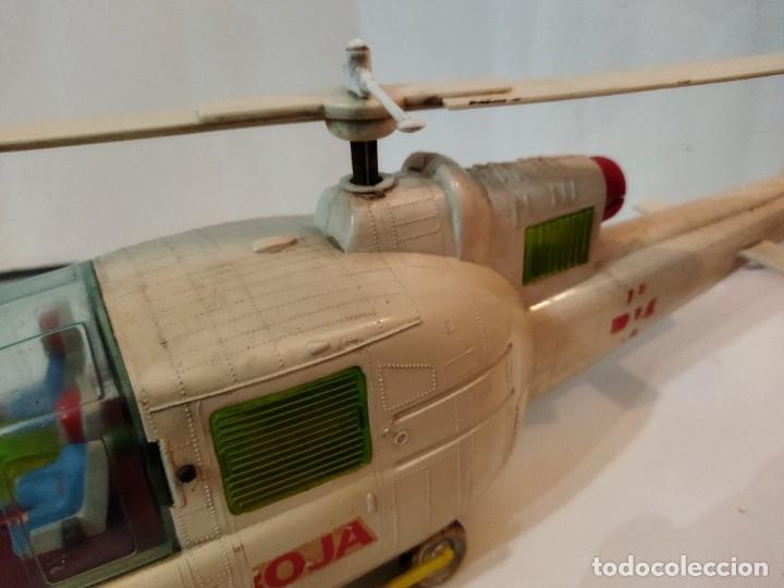 Juguetes antiguos Jyesa: Helicoptero Cruz Roja marca JYESA años 60 - Foto 10 - 245314930