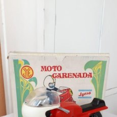 Juguetes antiguos Jyesa: MOTO CARENADA JYESA, CAJA ORIGINAL, AÑOS 70. Lote 245735840