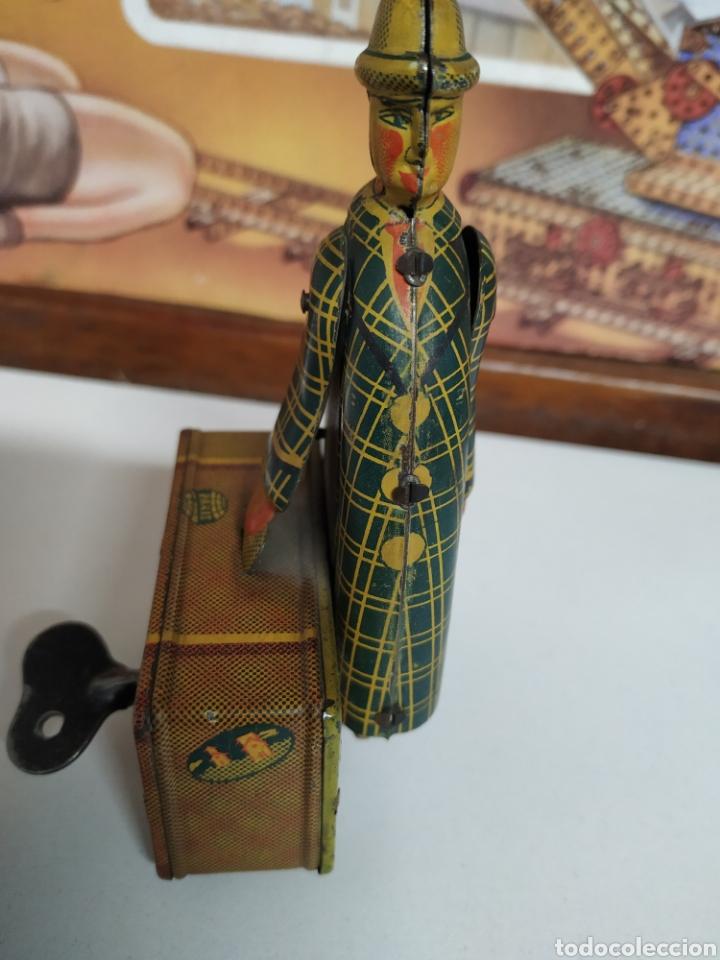 Juguetes antiguos Jyesa: El maletero de jyesa 1945 - Foto 2 - 259307350