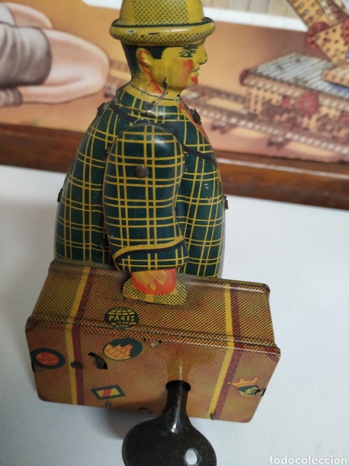 Juguetes antiguos Jyesa: El maletero de jyesa 1945 - Foto 3 - 259307350