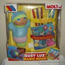 Juguetes Antiguos: GUSY LUZ DE MOLTÓ,MAGIC BOOK,CAJA ORIGINAL,2007,A ESTRENAR. Lote 162695194