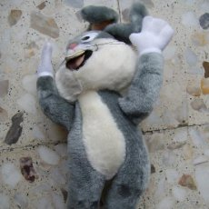 Juguetes Antiguos: PELUCHE BUGS BUNNY. Lote 27301725