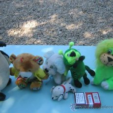 Juguetes Antiguos: 6 PELUCHES. Lote 26978560