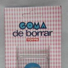 Juguetes Antiguos: OSITO TOYPA,GOMA DE BORRAR,BLISTER,A ESTRENAR. Lote 105230943