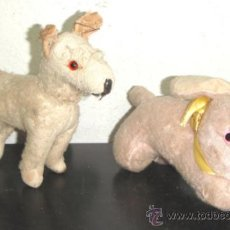 Juguetes Antiguos: 2 PELUCHES . Lote 32228557