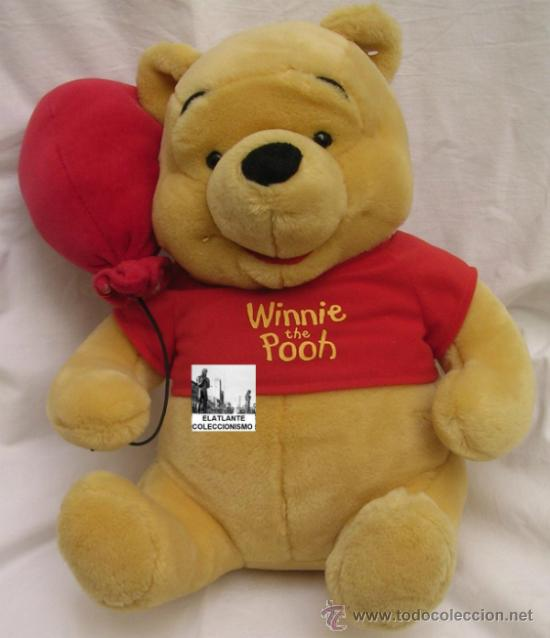 oso winnie the pooh con globo peluche disney comprar. Black Bedroom Furniture Sets. Home Design Ideas
