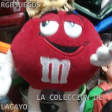 Juguetes Antiguos: PELUCHE M&MS APROX 30 CMTS. Lote 32950054