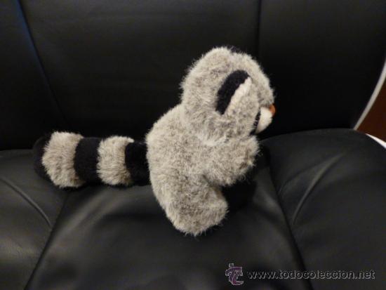 Juguetes Antiguos: Peluche de un bonito mapache - Foto 3 - 33794433