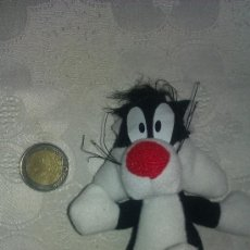 Juguetes Antiguos: PELUCHE GATO SILVESTRE - LOONEY TOONS. Lote 37462559