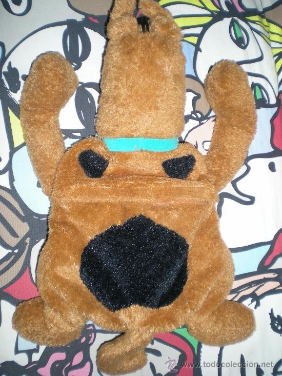Juguetes Antiguos: precioso muñeco grande de scooby doo para guarda pijama - Foto 4 - 38839225