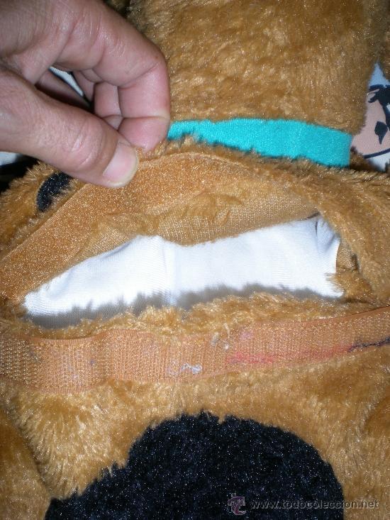 Juguetes Antiguos: precioso muñeco grande de scooby doo para guarda pijama - Foto 5 - 38839225