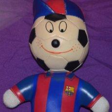 Brinquedos Antigos: MUÑECO DE PELUCHE DEL BARCELONA. Lote 41182208