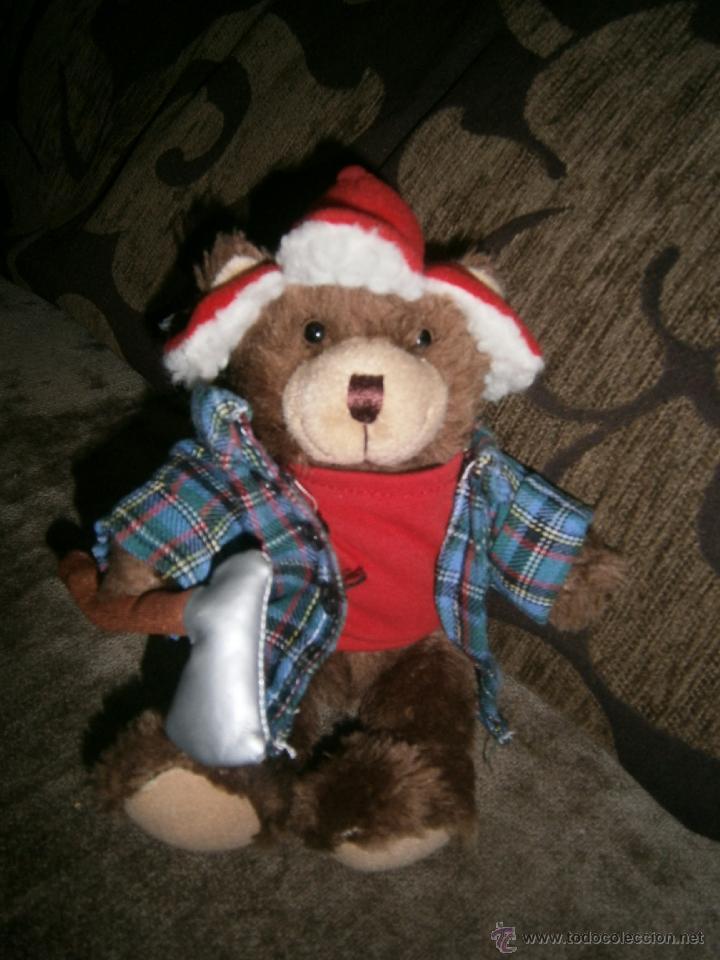 OSITO LEÑADOR DE PELUCHE TEDDY BEAR COLLECTION (Juguetes - Ositos & otros Peluches)