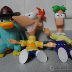 Juguetes Antiguos: PERSONAJES DE PHINEAS AND FERB. Lote 43485541