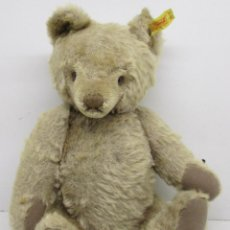 Juguetes Antiguos: OSO OSITO PELUCHE MOHAIR STEIFF 0202/36 MADE IN GERMANY. Lote 48599937