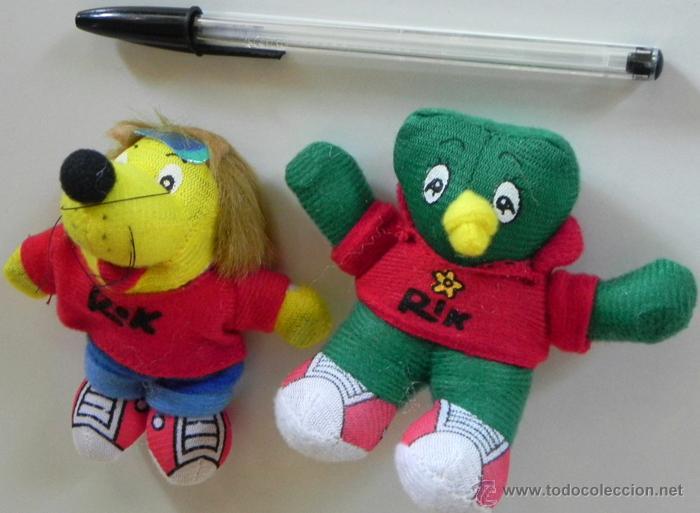 Lote De Peluches Rok Y Rik Mascotas Peluc Acquista Orsetti