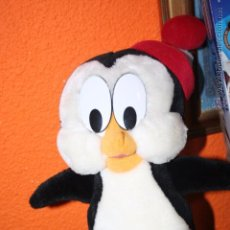 Juguetes Antiguos: ANTIGUO PELUCHE PINGUINO CHILLY WILLY WALTER LANTZ. Lote 50777998