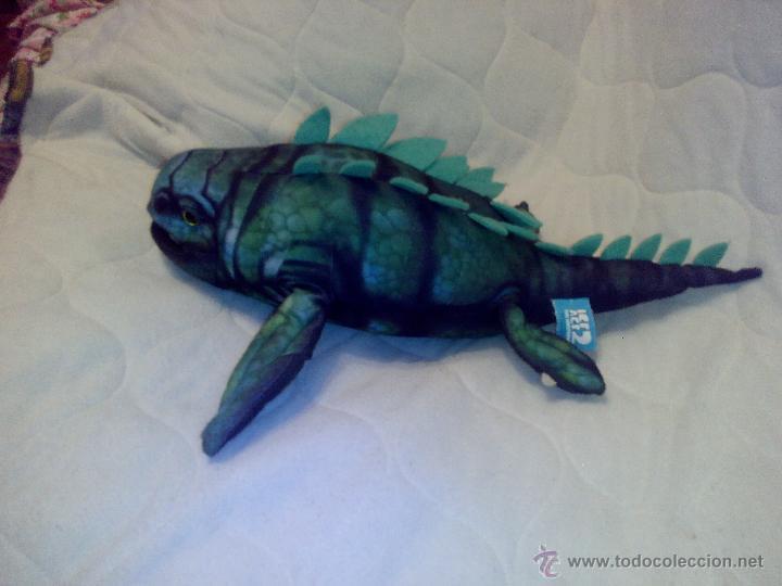 Juguetes Antiguos: Peluche del monstruo acuático Maelmstrom de ice age 2- 2005 ,original. - Foto 2 - 127810440