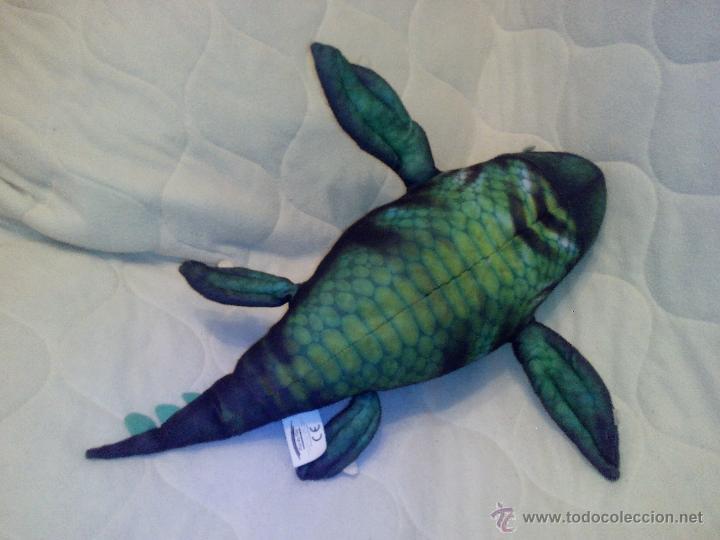 Juguetes Antiguos: Peluche del monstruo acuático Maelmstrom de ice age 2- 2005 ,original. - Foto 4 - 127810440