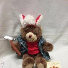 Juguetes Antiguos: OSO LEÑADOR TEDDY BEAR COLLECTION - OSO DE PELUCHE . Lote 53505013