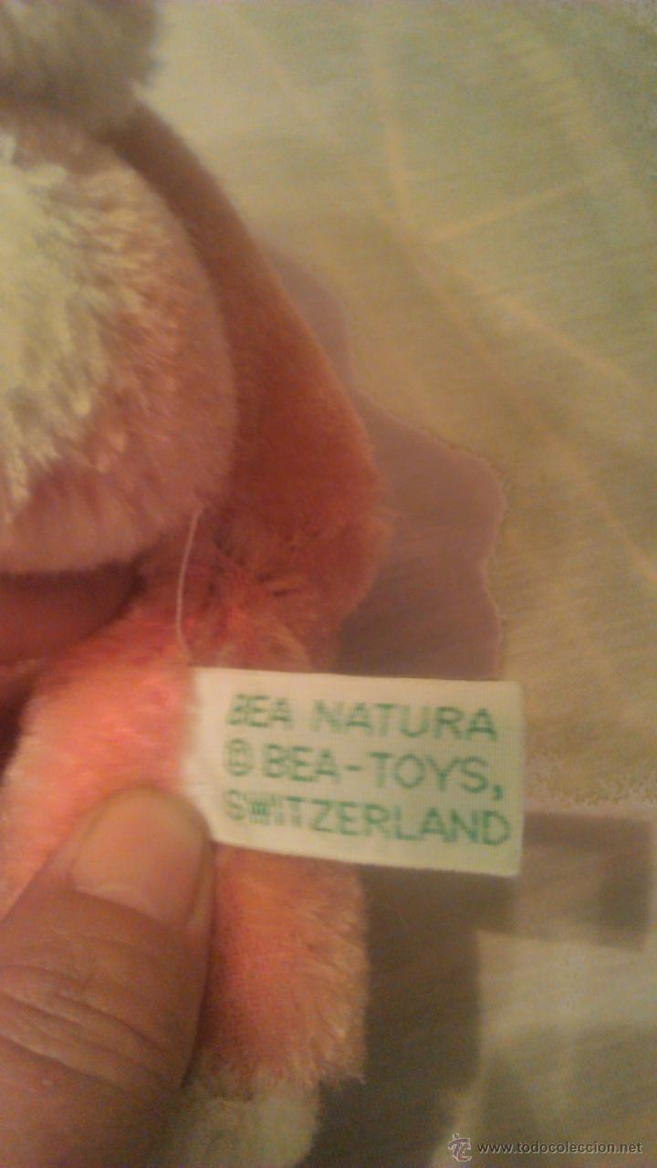 Juguetes Antiguos: PRECIOSO perrito BEA NATURA BEA-TOYS SWITZERLAND 100% MOHAIR.AÑOS 50 - Foto 5 - 53709365