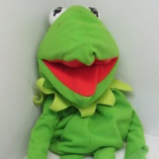 Juguetes Antiguos: PELUCHE RANA GUSTAVO BARRIO SESAMO TELEÑECOS MUPPETS 60 CMTS. PLAY BY PLAY. Lote 53773085