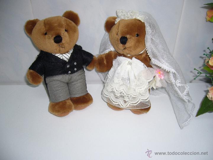 muñeca-muñeco peluche-peluches-boda-novios-nuev - comprar ositos de
