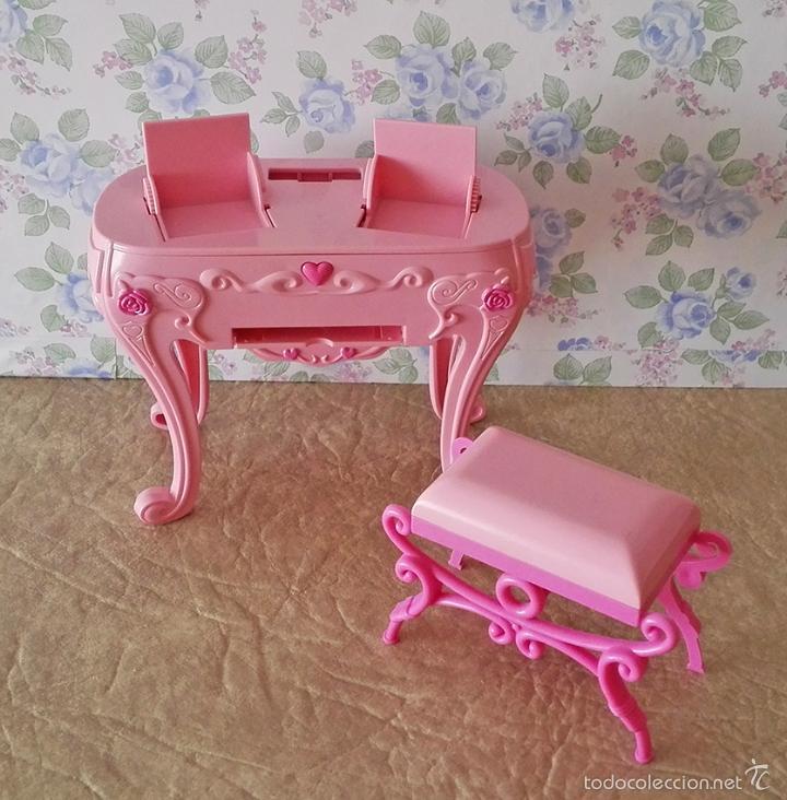 muebles barbie, escritorio, tocador, butaca, ca - Comprar ositos de ...