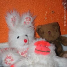 Juguetes Antiguos: 3 PELUCHES . Lote 56083587