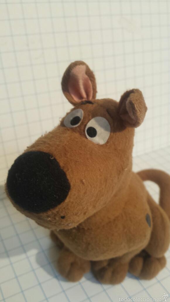 Juguetes Antiguos: Peluche Scooby Doo - Foto 2 - 57663625