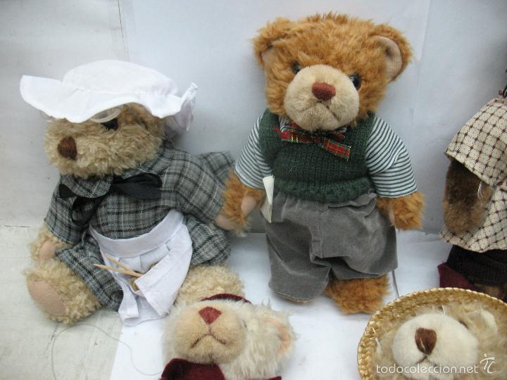 Juguetes Antiguos: Familia de osos de peluche - Foto 2 - 58420497