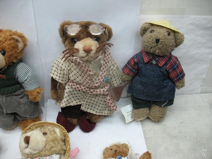 Juguetes Antiguos: Familia de osos de peluche - Foto 3 - 58420497