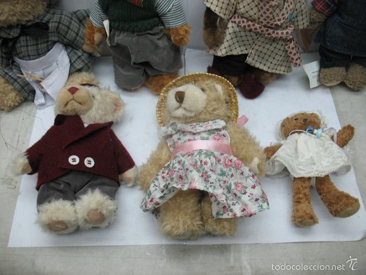 Juguetes Antiguos: Familia de osos de peluche - Foto 4 - 58420497